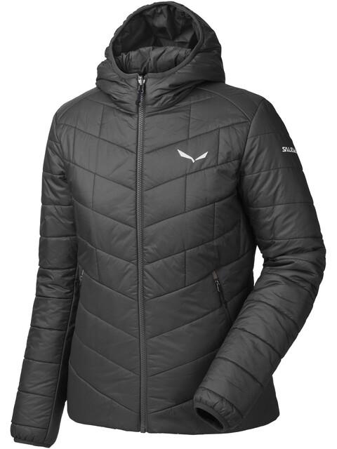 Salewa Fanes TW CLT Hood Jacket Women black out